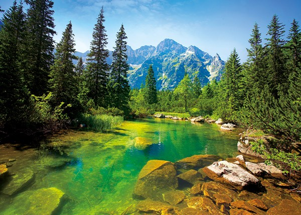 Trefl puzzle 500 pieces: a View of the Tatra mountains 37117