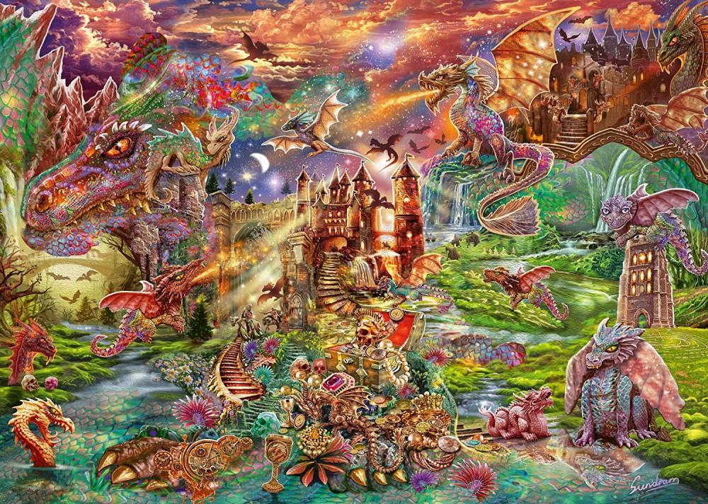 Schmidt Jeux 59644 steampunk chat Markus Binz 1000 Pièces Puzzle