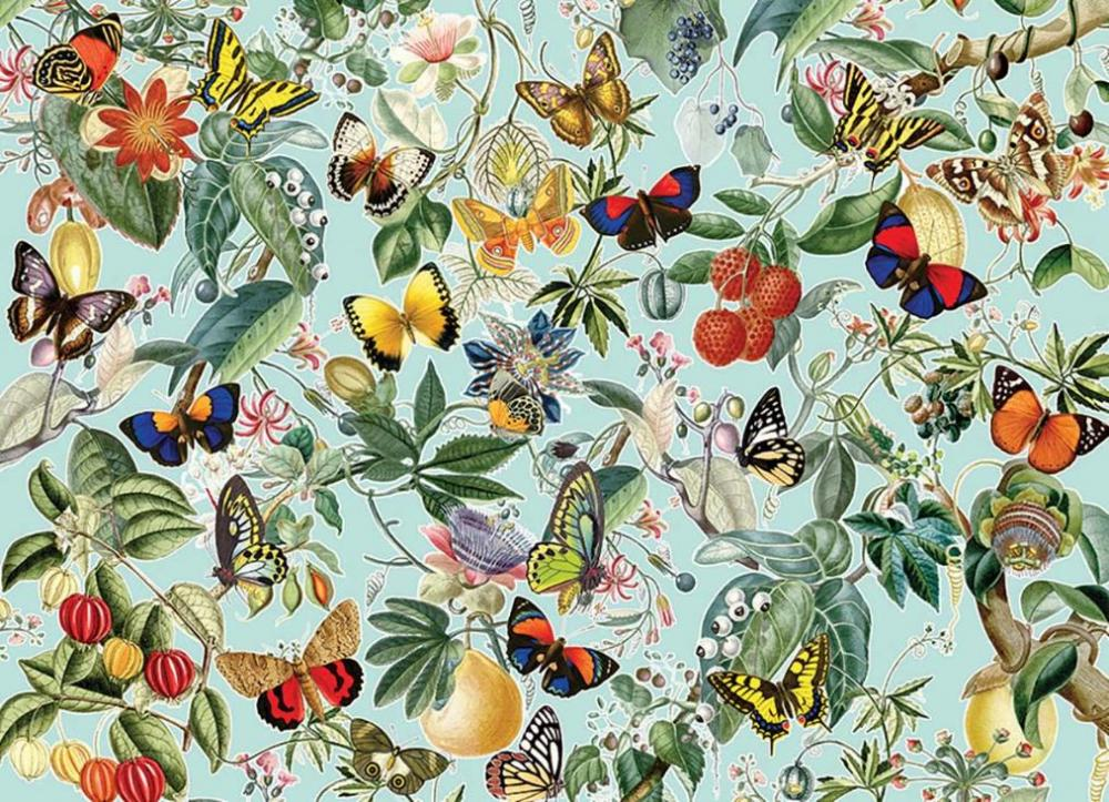Perre Butterfly Woods Puzzle 1000-Piece