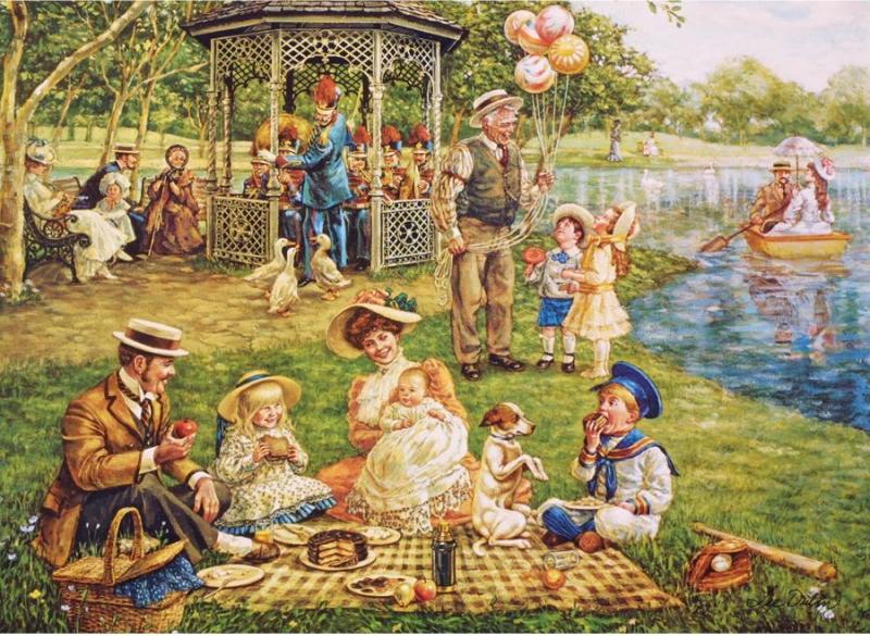 Открытки про пикник