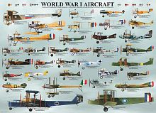 Puzzle Eurographics 1000 pieces: Airplanes of the first world war