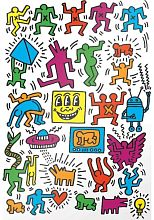 Puzzle Eurographics 1000 pieces: Collage, Keith Haring