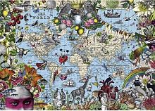 Puzzle Heye 2000 details: the Whimsical world