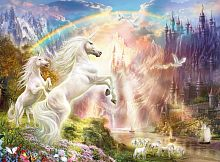 Puzzle Clementoni 500 pieces: Unicorns. Dawn