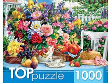 TOP Puzzle 1000 Pieces: Summer Still Life and Hat