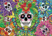 Puzzle Educa 1000 pieces: Sugar skull