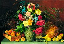 Stella puzzle 1500 pieces: Flowers and fruits