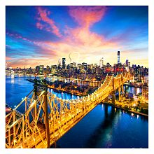 Pintoo 1600 piece puzzle: Queensboro Bridge. Manhattan