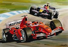 Anatolian jigsaw puzzle 260 items: Formula one Racing