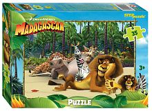 Puzzle Step 35 parts of: Madagascar 3 (DreamWorks, Multi)