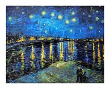 Puzzle Pintoo 500 items: van Gogh Starry night over the Rhone