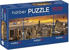 Puzzle Hatber 2х260 and 500 items: City Style