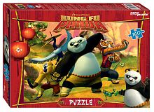 Puzzle Step 160 details: Kung fu Panda (DreamWorks, Multi)