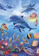 Anatolian jigsaw puzzle 260 items: Underwater world