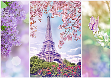 Puzzle Trefl 1000 pieces: Spring in Paris. Romance