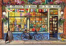Educa jigsaw puzzle 5000 pieces: Bookstore