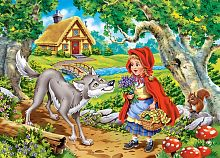 Jigsaw puzzle Castorland 60 pieces: Red riding Hood 1