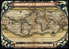 Puzzle Art Puzzle 3000 pieces: the First modern Atlas, 1570