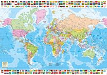 Jigsaw puzzle Educa 1500 parts Political map of the world