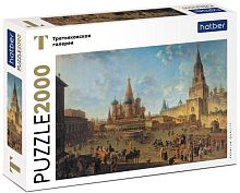 Puzzle Hatber 2000 details: F. Y. Alekseev Red square in Moscow