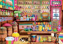 Puzzle Educa 1000 pieces: candy Store