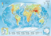 Puzzle Trefl 1000 pieces: the Physical map of the world