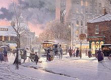Cobble Hill puzzle 1000 pieces: the Winter snowstorm