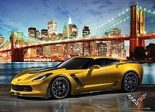Puzzle Eurographics 1000 pieces: Corvette Z06