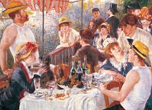 Puzzle Eurographics 1000 pieces: luncheon of the boating party, Renoir