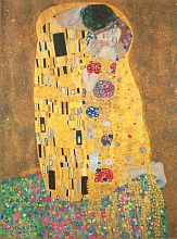 Puzzle Clementoni 500 items: Klimt. Kiss