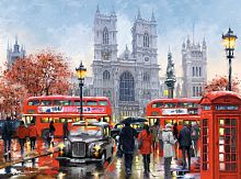Puzzle Castorland 3000 pieces: Westminster Abbey