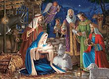 Cobble Hill 1000 pieces puzzle: Miracle in Bethlehem