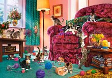 Puzzle Castorland 500 pieces: Naughty kitties