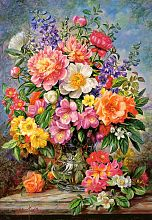 Puzzle Castorland 1000 pieces: Flowers