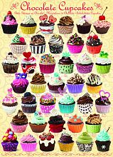 Puzzle Eurographics 1000 pieces: Chocolate cupcakes