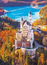 Puzzle Clementoni 1000 pieces: Neuschwanstein in autumn