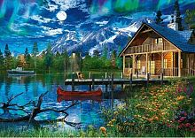 Schmidt puzzle 500 items: Mountain lake
