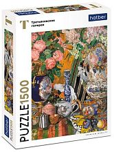 Hatber puzzle 1500 pieces: Golovin A.Ya. Porcelain and flowers