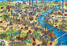 Puzzle Educa 500 items: Map of London