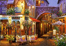 Puzzle Castorland 1000 pieces: Evening in Provence