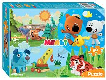 Step puzzle 60 pieces: Mi-mi-bears, etc. Cartoon