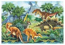 Anatolian jigsaw puzzle 260 items: Dinosaur Valley I