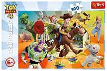 Puzzle Trefl 160 parts: In the toy world, Toy Story