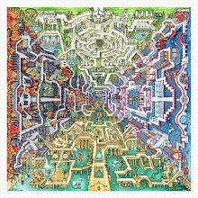 Pintoo 1600 pieces puzzle: T. Parker. Mythological labyrinth