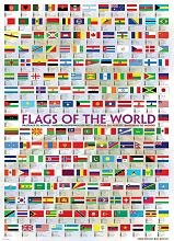 Puzzle Eurographics 1000 pieces: flags of the world