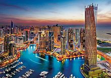Puzzle Clementoni 1500 parts: the Harbor in Dubai