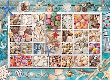 Puzzle Eurographics 1000 items: Collection of seashells Laura