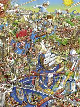Heye puzzle 1500 pieces: River of history