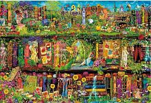 Trefl puzzle 1500 pieces: a Fabulous library