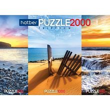 Puzzle Hatber 2х500 and 1000 items: Bright colors of nature
